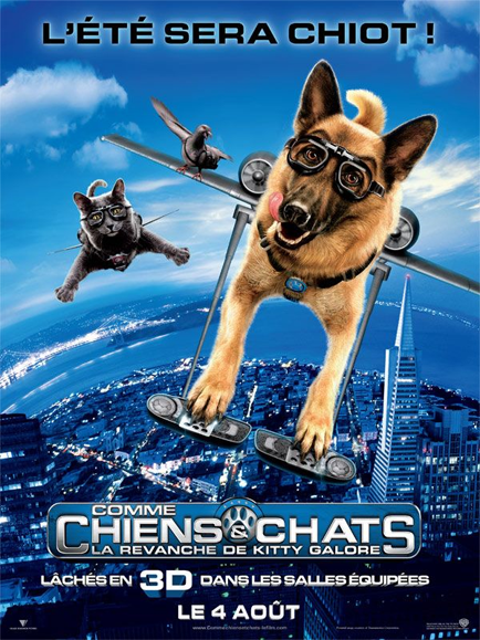 Comme chiens et chats : la revanche de Kitty Galore (1CD) [FRENCH] [DVDRIP] [MULTI]