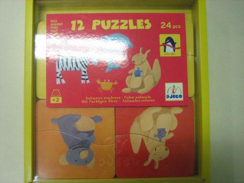 Puzzles animaux