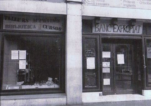 Banque expropriée Barcelone