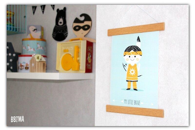Pagaille et cie déco décoration affiche poster illustration enfant kids chambre decokids homedecor kidsroom bbtma le blog 1