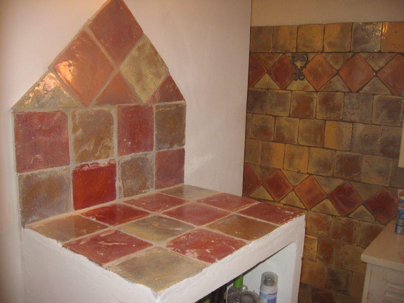carreaux en terre cuite maill s la m di vale du luberon. Black Bedroom Furniture Sets. Home Design Ideas
