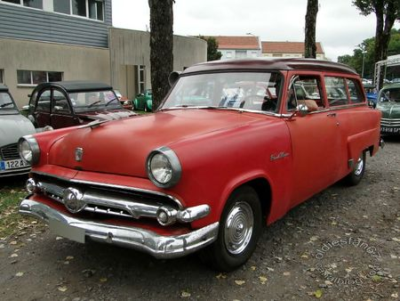 ford mainline 2door ranch wagon 1954 bourse de crehange 2011 1