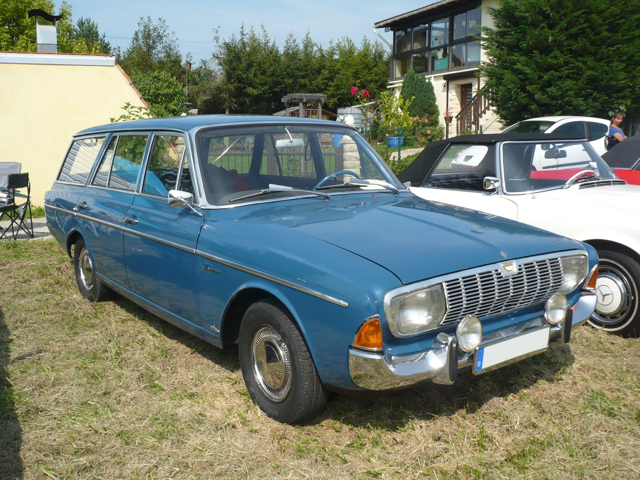 FORD Taunus 20m P5 Turnier break 5 portes 1966 Hambach (1)