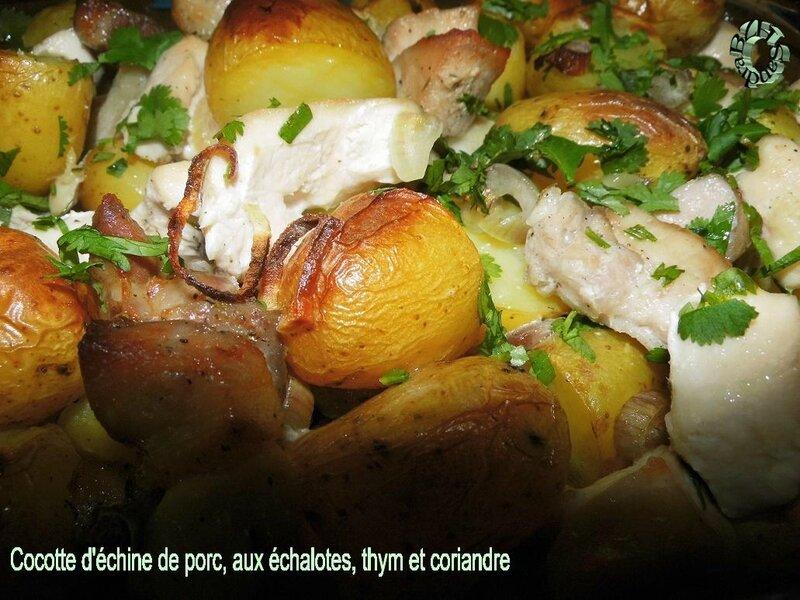 1211 Cocotte d'échine de porc, aux échalotes, thym et coriandre 3