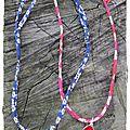 Colliers médaille miraculeuse sur liberty