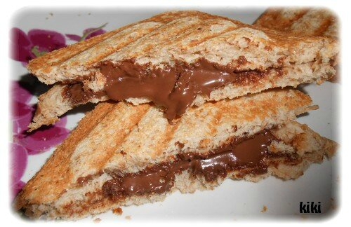 Croque au nutella