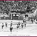 Béziers - 11 juillet 1897 - nouvelles arènes