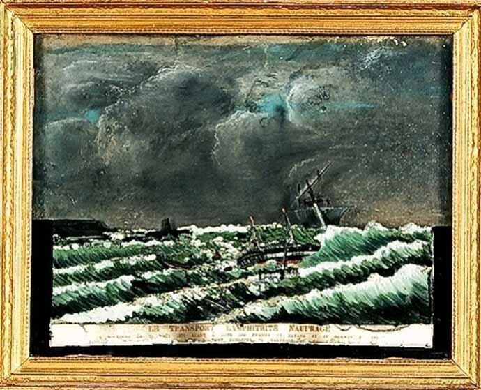 Amphitrite naufragé