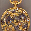 Pocket watch by Rene Lalique.