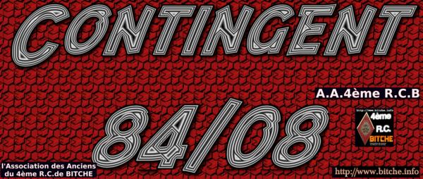 CONTINGENT 84