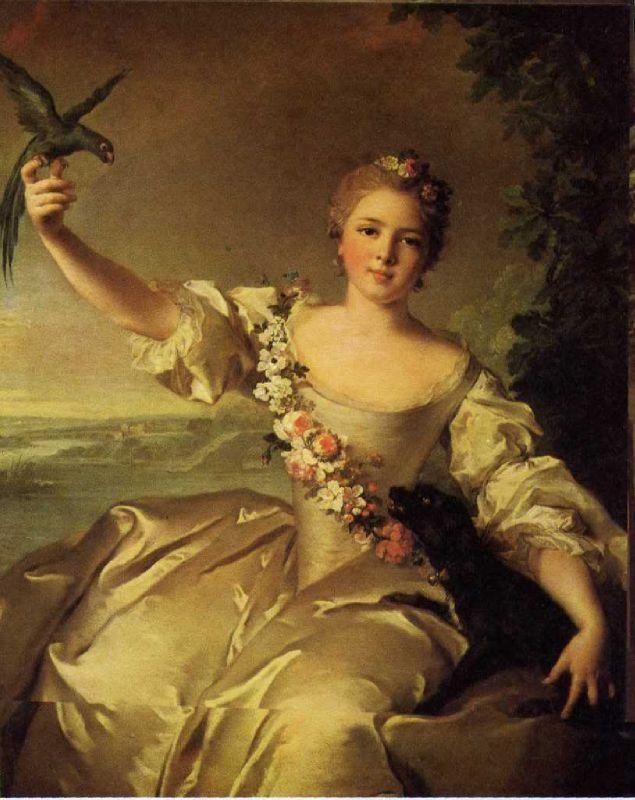 Marie-François Renée de Forcalquier, maitresse passagère du Bien-Aimé