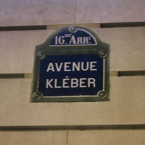 Raphal Paris Avenue Klber J&amp;W