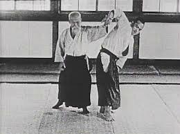Ueshiba Morihei. Sankyo.