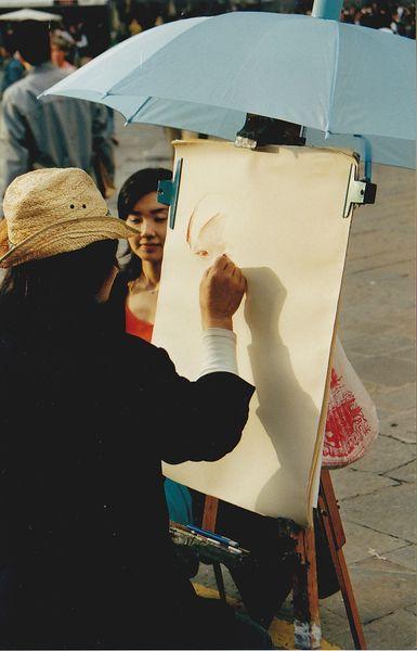 2002 05 Portraitiste à Florence