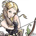 Evangelyne : fan-art wakfu