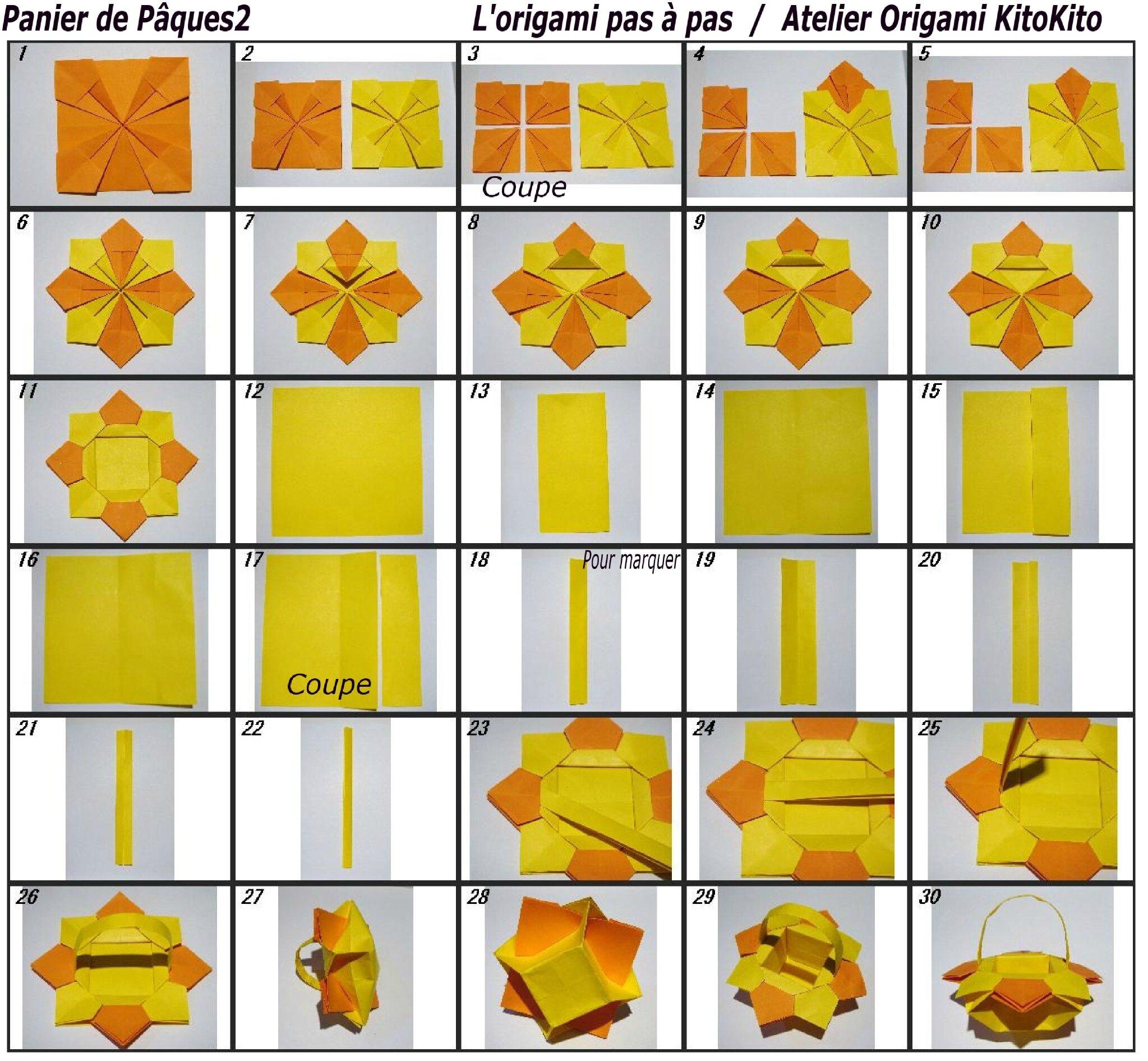 panier de p ques2 l 39 origami pas pas atelier origami. Black Bedroom Furniture Sets. Home Design Ideas