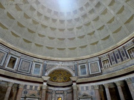 Rome coupole pantheon mai 2012