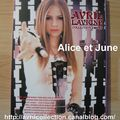 DVD non officiel japonais-Avril Lavigne collection (2005)