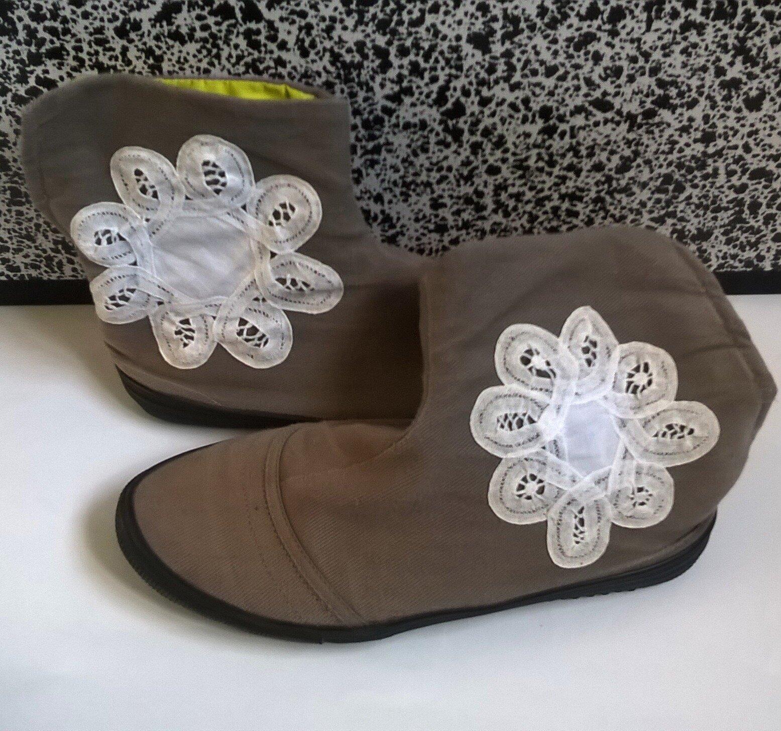 DIY : Mes chaussures en dentelle