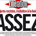 Libération : assez !