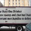 Boire de la bière donne le sens de l'humour...
