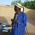 Demba BA du village de Niarwal - Président du comité de santé de Gawdé Bofé - Février 2012