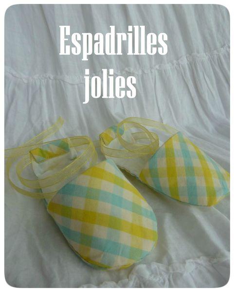 Espadrilles jolies (1