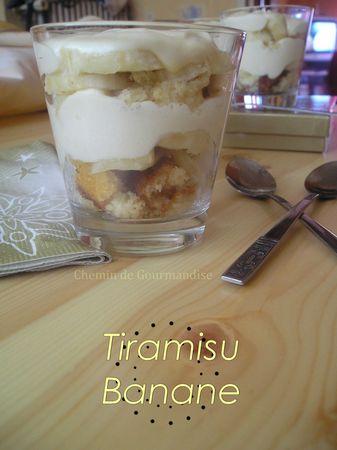 Tiramisu banane facebook