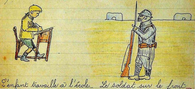 illustration-de-1916-tire-de-la-guerre-des-crayons-m-pignot-2004_12502526193_o