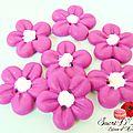 Bouton fleurette rose (2)