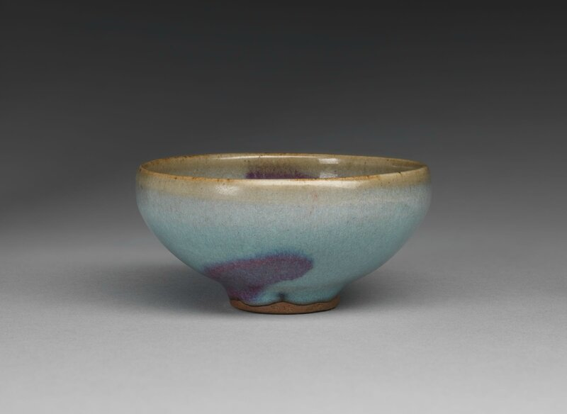 Small Circular Wine Bowl with Purple Splashes, Jin dynasty, 1115-1234, 12th-13th century (2)