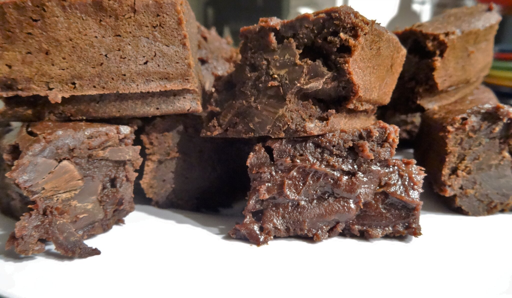 Parfait Brownie 100% Chocolat { Brownie de la mort qui tue ! }