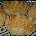 Petits pains à l'arôme de rose