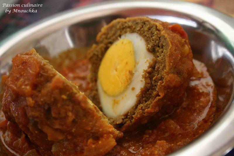Nargisi kofta ou chaussons d 39 agneau farcis passion - La cuisine pakistanaise ...