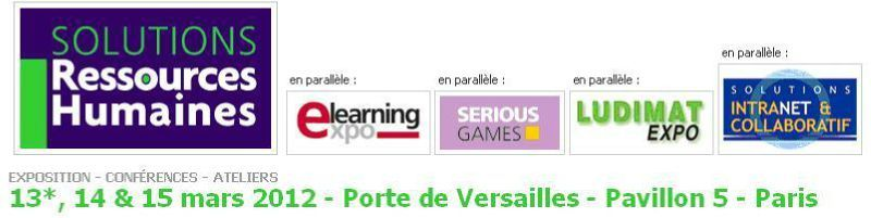 Solutions ressources humaines 2012 chos sirh propos s for Salon sirh