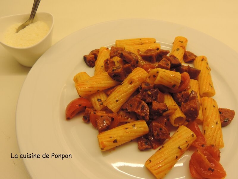 pâtes au chorizo (10)