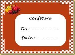 Etiquette confiture 4