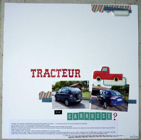 tracteur ou carrosse