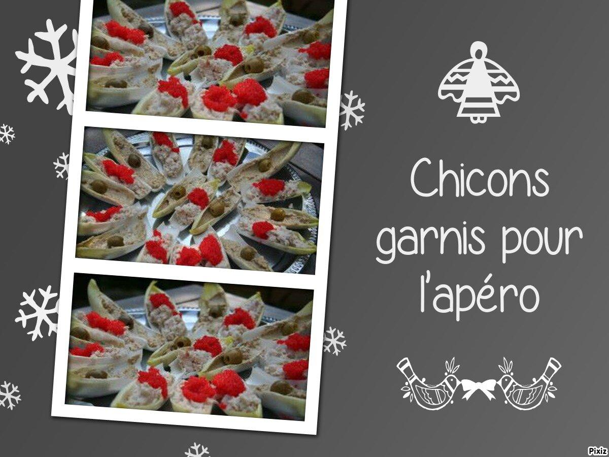 Chicons garnis pour l 39 ap ro recettes de r gime une for Apero a la maison