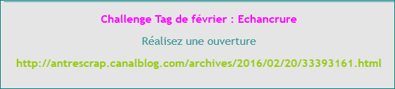 challenge tags mars avril