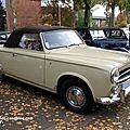 La peugeot 403 cabriolet (retrorencard novembre 2011)