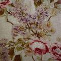 J'adore ce tissu à fleurs