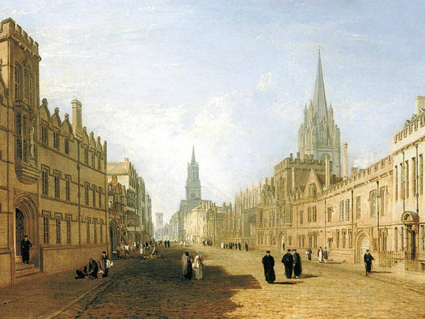 The Ashmolean launches campaign to acquire JMW Turner's 'The High Street, Oxford'