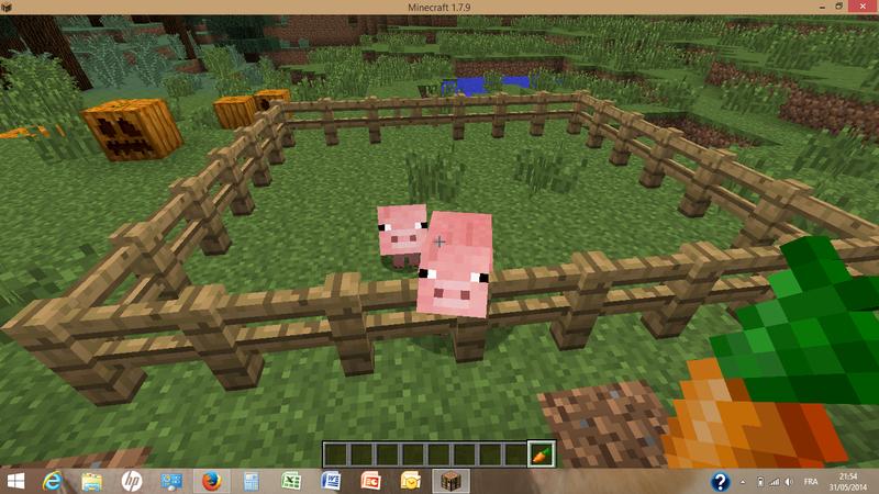 comment avoir un spawner a cochon