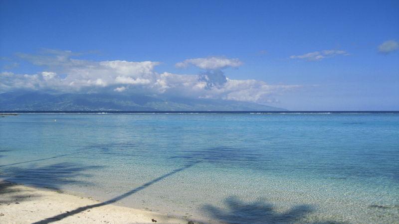 La plage temae moorea photo de tahiti tama zaza for Chambre 13 tahiti plage