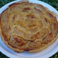 La tarte aux pommes dite al'coloche 