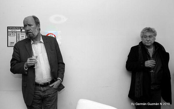 Escritores colombianos en Paris (13)