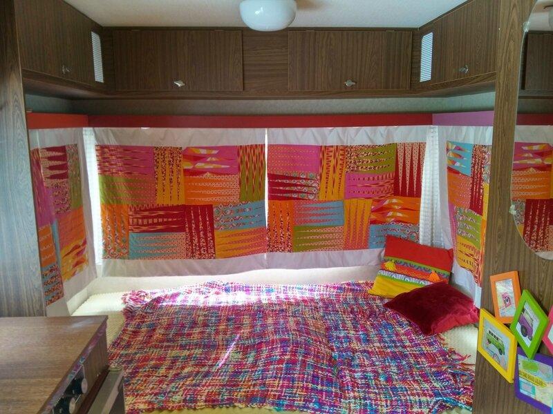 rideaux de caravane