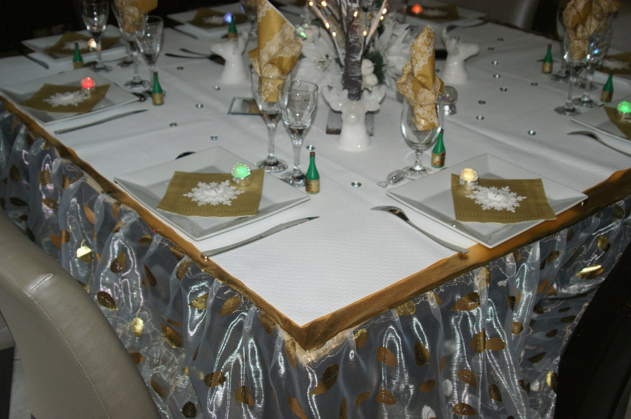Decoration reveillon 31 decembre - Deco table reveillon ...