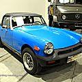 Mg midget MK5 1500 roadster convertible de 1978 (RegioMotoClassica 2011) 01